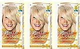 3x Garnier Belle Color 111Rubio Claro Ceniza Tinte para Cabello Mujer