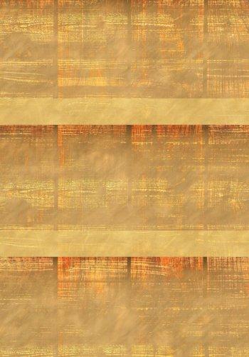 Blond Madera notebook--Creative Journal: 7x 10, papel crema, 5mm Dot Grid, 184páginas