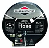 Briggs & Stratton 8BS75 75-Foot Premium Heavy-Duty Rubber Garden Hose