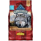 Azul Buffalo Wilderness Rocky Mountain Receta seco Adulto Comida para Perro