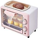 Mini forno, 12L Piccolo forno per la casa per la cottura, multifunzione automatica Forno elettrico Capacità 800W Temperatura Temperatura 60 minuti Cake Drier Air Fryer
