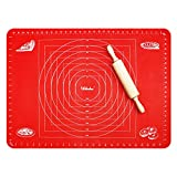 Webake Extra Large Silicone Pastry Baking Mat for Dough Rolling with Measurements 26 x 18 Inch,...