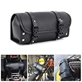 Motorcycle Tool Bag, Universal PU Leather...