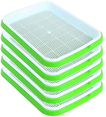 (40% OFF Coupon) Seedling Sprouter Tray 5 Pack $18.59