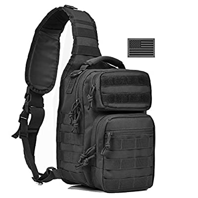 Tactical Sling Bag Military Sling Backpack Pack Small Range Bags