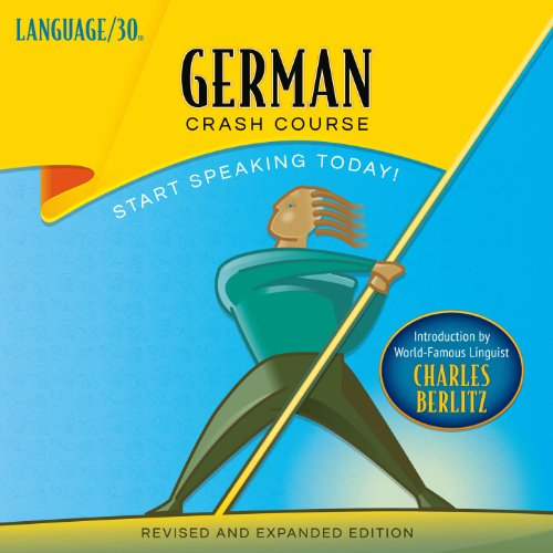 German Crash Course by LANGUAGE/30 audiobook cover art
