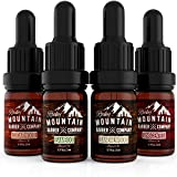 Beard Oil Sample Size Pack - Canadian Made - 4 Unique Beard Oil