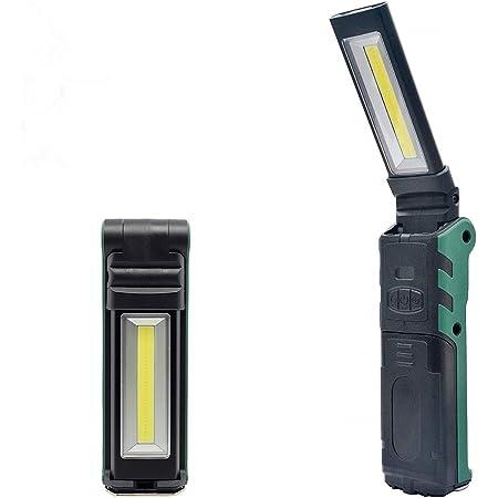 USB LED COB Inspektionslampe Arbeitsleuchte Flexible wiederaufladbare Taschenlam