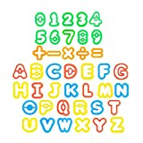 STOBOK 41pcs Play Dough Tool Kit Play Dough Accesorios Letras y números Cortadores Moldes Play Accesorios Mini Playdough Party Pack