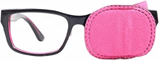 Arm Eye Patch For Glasses To Treat Lazy Eye / Amblyopia / Strabismus Pack Of 6 (3 Pairs,Color May Vary)