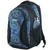 Mochila Escolar Grande para niños y niñas 40 litros yeepSport S106dx (Mandala Blue)