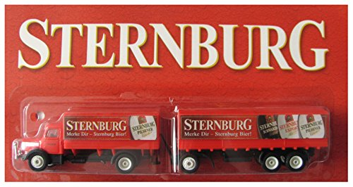 Sternburg Brauerei Nr.02 - Merke Dir, ..... Bier - Krupp Mustang - Hängerzug Oldie