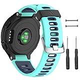 Correa de silicona de repuesto para reloj Garmin Forerunner 230/235/620/630/735XT para hombres y mujeres, de NotoCity
