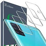 Ferilinso Vetro Temperato per Lente Fotocamera di Samsung Galaxy A51 4G/5G Vetro Temperato,[4pack] Film di Protezione in Vetro temperato Senza Bolle (Chiaro)