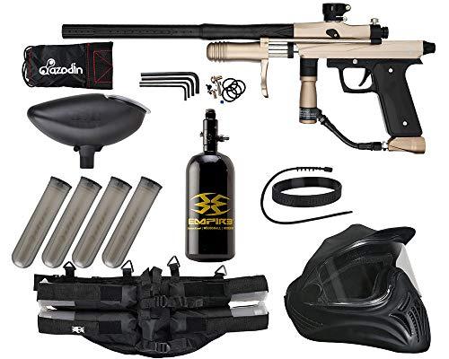 Action Village Azodin KPC Pump Paintball Gun Legendary Package Kit (Tan/Black)
