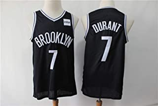 Kevin Durant NO.7 Brooklyn Nets Embroidery City Edition All-Star Jersey Vest Loose Comfort Jersey T-Shirt Sweatshirt Baske...