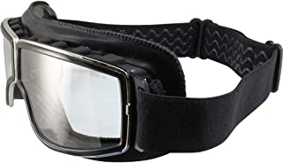 Birdz Condor Black Sport Padded Motorcycle Riding Goggle with Photochromic Lens
