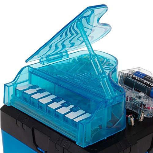 Electronic Piano - Construye tu propio piano electrónico - Kit de electrónica para niños - Juguete STEM