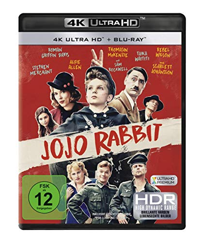 Jojo Rabbit [4K UHD] [Blu-ray]
