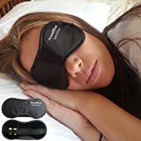PrimeEffects Sweet Dreams Sleep Mask with Soft Ear Plugs