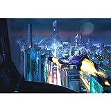 Pintura al óleo de la noche de la ciudad por números paisaje para colorear Diy Kit pintado a mano dibujo de imagen sobre lienzo decoración del hogar A16 45x60cm