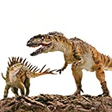 PNSO 1/35 Yangchuanosaurus Fight Chungkingosaurus Dinosaur Figure Realistic with Platform Jurassic Animal Dino PVC Model Toys Collector Decor Gift Birthday Party for Adult PreOrder