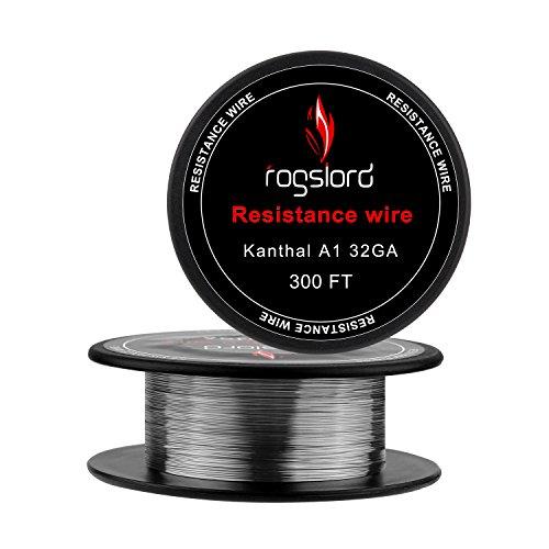 Kanthal A1 Prebuilt Resistance Wire - 32 AWG Gauge Spools 300 '