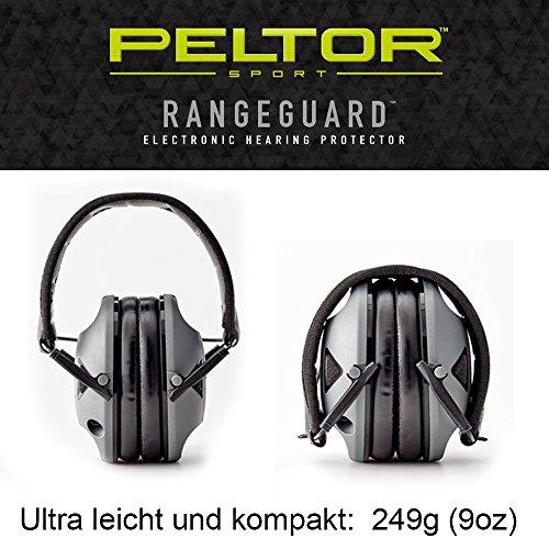 Originele PELTOR USA elektronische actieve gehoorbescherming hoofdtelefoon Range Guard