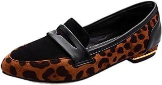 4d977b9d COOLCEPT Moda Mujer Tacon Bajo Tacon De Vaquero Bombas Zapatos Sin Cordones  Fiesta Zapatos Extra Sizes
