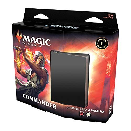 Magic The Gathering - Commander Legends   Commander Deck Arm of Battle   100 cards   Acessórios   Produto em Inglês
