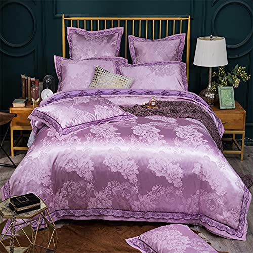 Cactuso Twin Xl White Duvet Cover,Bedding Four Sets Cotton Cotton Sheets-Turmeric_2.0m Bed 4 Pie Velvet Quilted