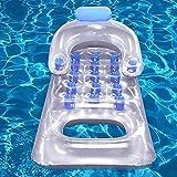 YYGQING Classic Lounge Float Weater Hammock Recliner Inflatable Natación Flotante Colchón Mar Natación Piscina Pool Fiesta Piscina (Color : 1)