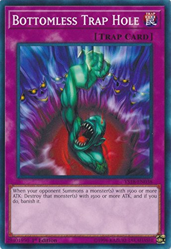 Yu-Gi-Oh! - Starter Deck: Codebreaker - Bottomless Trap Hole - YS18-EN038 - Common - 1st Edition