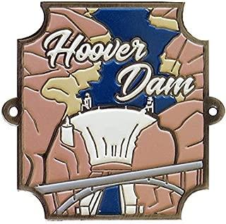 Hoover Dam Hiking Stick Medallion