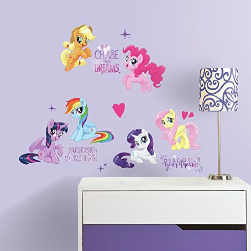 RoomMates Adesivos de parede My Little Pony The Movie Peel And Stick