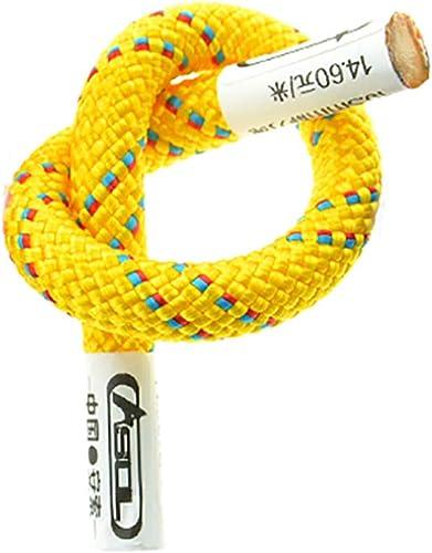 YYHSND Corde auxiliaire grimpante auxiliaire en Plein air Fournitures de matériel de Survie en Corde diamètre 6   8mm Corde d'alpinisme (Taille   6mm 30m)