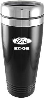 Au-Tomotive Gold, INC. Ford Edge Black Travel Mug
