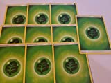 Pokemon 20 Basic Grass Energy Cards Green/Leaf/Bug-Type (Sun & Moon Series Design, Unnumbered)