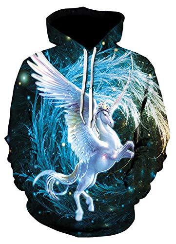 Morton PegfwaS Eagle 3D-Digitaldruck, Trendiger Herren-Hoodie