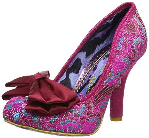 Irregular Choice Mal E Bow, Escarpins Bout fermé Femme, (Pink AX), 5 EU