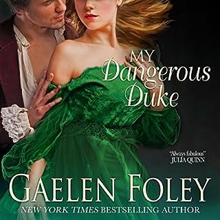 My Dangerous Duke audiobook cover art
