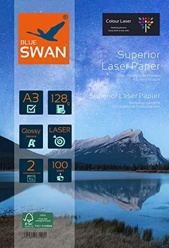 BLUE SWAN 100 Blatt A3 Superior Colour Laser...