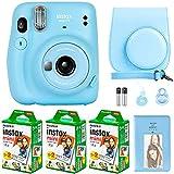 Fujifilm Instax Mini 11 Camera with Fujifilm Instant Mini Film (60 Sheets) Bundle with Deals Number...