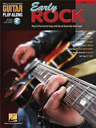 Guitar Play-Along Volume 11: Early Rock. Partituras, CD para tablatura guitarra