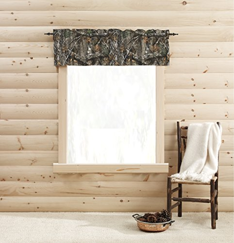 Realtree Edge Window Valance, 60in x 14in, Multicolor