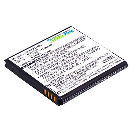Akku-King Akku kompatibel mit HTC BG58100, BG86100, BA-S560, BA-S590 - Li-Ion 1750mAh - für Sensation, XE, EVO 3D, Pyramid, Google G14