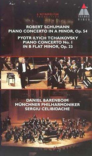 Schumann/Tschaikowsky - Schumann Piano Concerto/ Tschaikowsky Piano Concerto No. 1 [VHS]