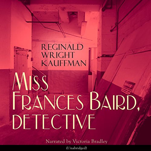 Miss Frances Baird, Detective audiobook cover art