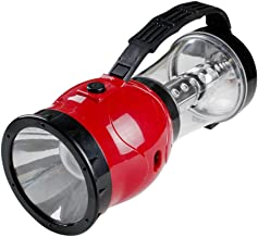 Mobestech Outdoor Solar Handheld Spotlight Flashlight Camping Light Tent Lamp Rechargeable Emergency Light for Hiking Fish...