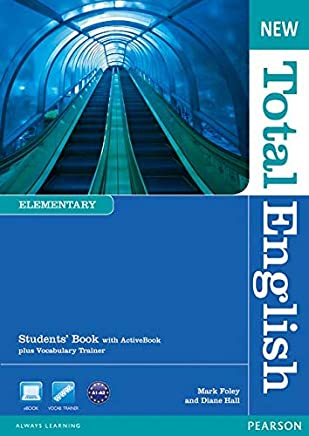 New Total English Elementary Students Book (with Active Book CD-ROM) [Lingua inglese]